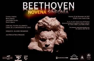 Cartel Beethoven Navidad 2017III